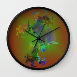 Classic Fractal Wall Clock