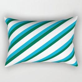 TEAM COLORS 1...LIGHT BLUE,GREEN Rectangular Pillow