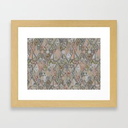To landmannalaugar with love Framed Art Print
