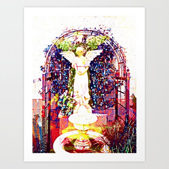 ANGEL 005 Art Print