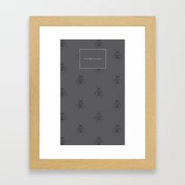 Don't follow the swarm Framed Art Print
