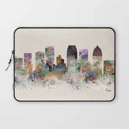 tampa florida skyline Laptop Sleeve