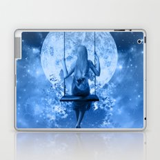 night in blue Laptop & iPad Skin