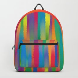 Paint Yourself In Stripe Backpack