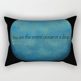The Entire Ocean Rectangular Pillow