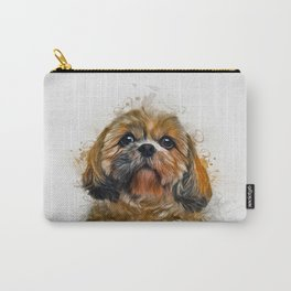Shih Tzu Art Carry-All Pouch