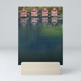 4 HOUSES Mini Art Print