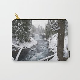 The Wild McKenzie River Waterfall - Nature Photography Carry-All Pouch