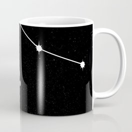 AQUARIUS (BLACK & WHITE) Coffee Mug