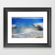 Sea Impressions Framed Art Print