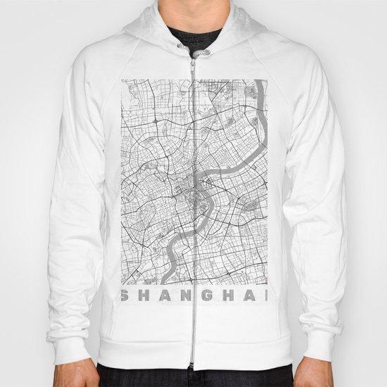 Shanghai Map Line Hoody