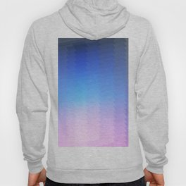 blue pink ombre color gradient abstract pattern Hoody