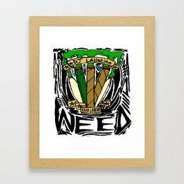 Blunts & Joints Framed Art Print