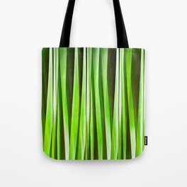 Tropical Green Riverweed Tote Bag