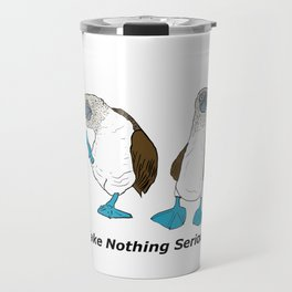 Blue Footed Booby Travel Mug