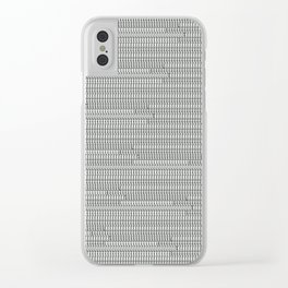 """grey """"t""""rs Clear iPhone Case"""