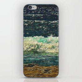 Ocean Close Up iPhone Skin