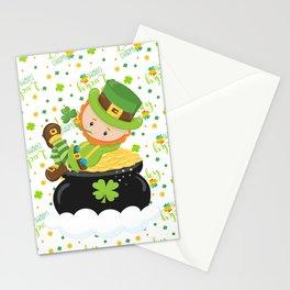 Lucky Little Leprechaun Stationery Cards