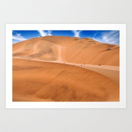 The Namib Desert, Namibia Art Print
