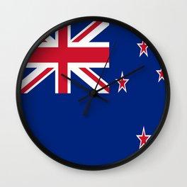 Flag of new zealand 3 -zealand,New Zealander,Kiwi,wellington,Auckland. Wall Clock