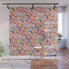 Fingernail Equipment - Blush Wall Mural