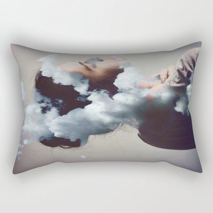 Where is my mind? no.6 Rectangular Pillow