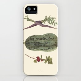 Vegetable plate iPhone Case