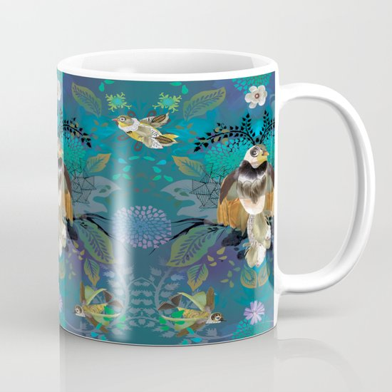 Blissful Birds Mug