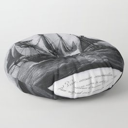 Gaspard Vence - 1777 / Corsaire Floor Pillow