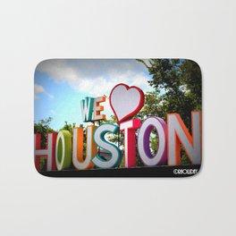 We Heart Houston Bath Mat