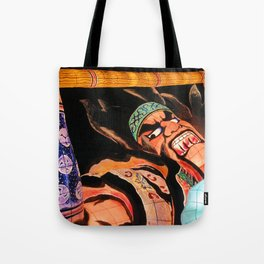 Warrior Almighty Tote Bag