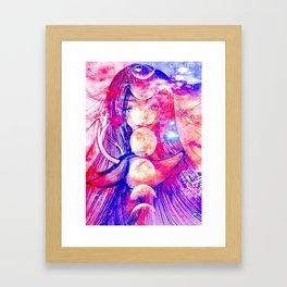 deer Galaxy Framed Art Print