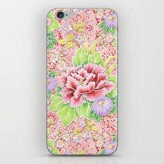 Pink Paisley Kimono Bouquet iPhone & iPod Skin