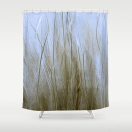 Feather Grass Shower Curtain