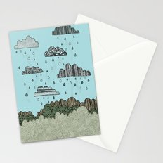 Rain Clouds Stationery Cards