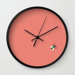 Time Flies Wall Clock
