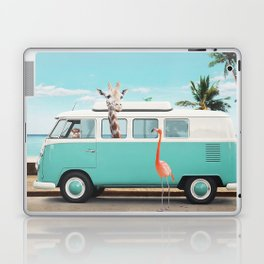 ON THE ROAD Laptop & iPad Skin