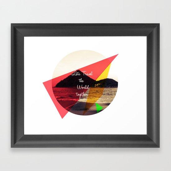 Lets.... Framed Art Print