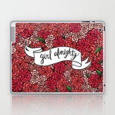 girl almighty Laptop & iPad Skin