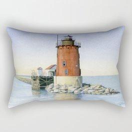 Delaware Breakwater East Light Rectangular Pillow