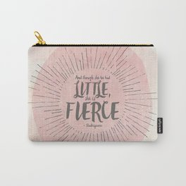 FIERCE - PINK Carry-All Pouch