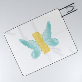 BUTTER-FLY Picnic Blanket