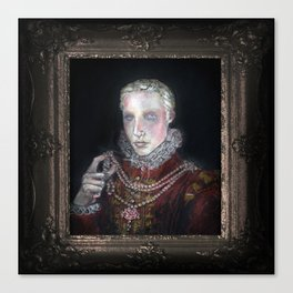 A Young Noble Canvas Print