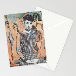 Proto-Cubist Audrey Stationery Cards
