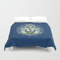 ganesh Duvet Covers featuring Ganesh by Scalifornian