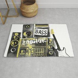 Beats, Bass & Guitar. Rug