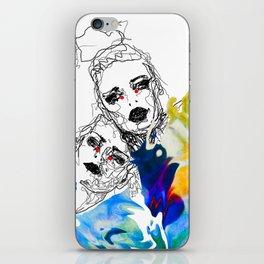 Emotional chaos iPhone Skin