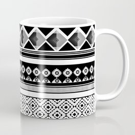 Modern Black 2 Coffee Mug