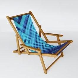 Blue Fish Angel Anglers Angles Sling Chair