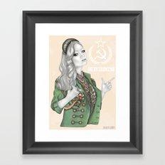 Russian Revolution Framed Art Print